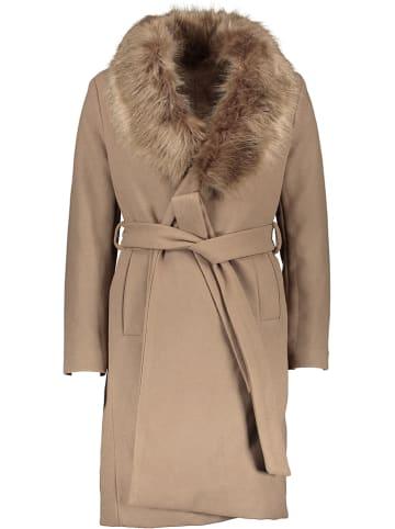 Winter Selection Płaszcz przejściowy w kolorze beżowym