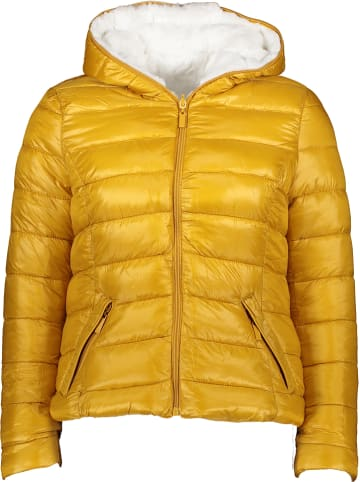 Winter Selection Dwustronna kurtka przejściowa w kolorze biało-żółtym