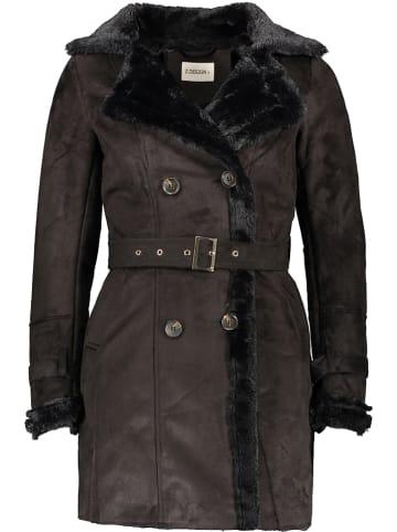 Winter Selection Płaszcz przejściowy w kolorze czarnym