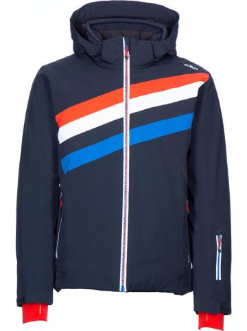 CMP Ski-/snowboardjas donkerblauw/rood
