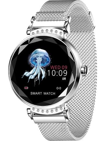 SmartCase Smartwatch zilverkleurig