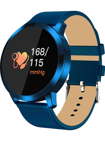 SmartCase Smartwatch w kolorze niebieskim