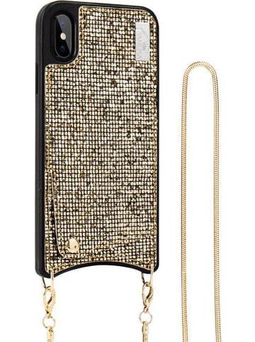 SmartCase Case voor iPhone X/Xs goudkleurig