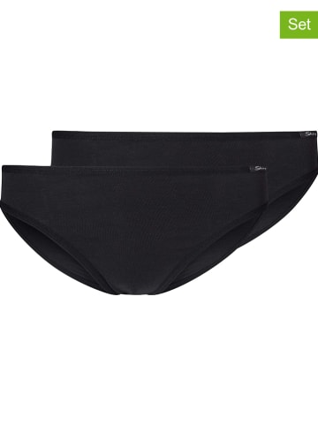 Skiny 2-delige set: slips zwart