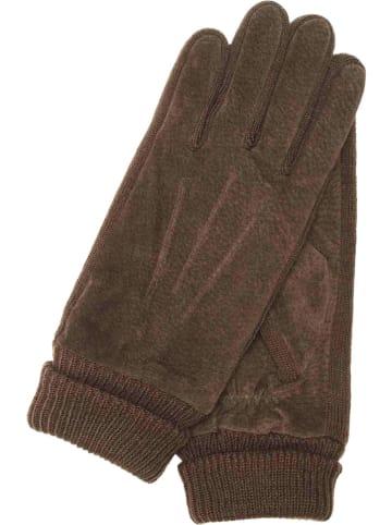 """Gretchen Skórzane rękawice """"Barcelona"""" w kolorze brązowym"""