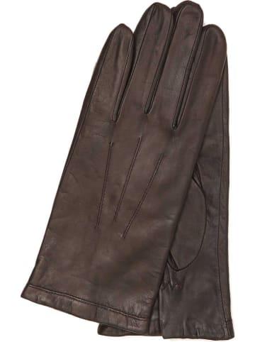 """Gretchen Skórzane rękawice """"Bilbao"""" w kolorze brązowym"""