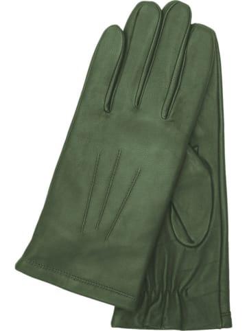 """Gretchen Leren handschoenen """"Lissabon"""" groen"""