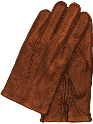 """Gretchen Leren handschoenen """"Frankfurt"""" bruin"""