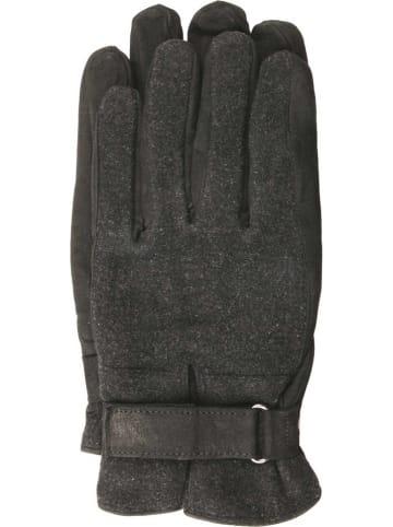 """Gretchen Skórzane rękawice """"Palma de Mallorca"""" w kolorze czarnym"""