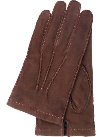 """Gretchen Skórzane rękawice """"Reims"""" w kolorze brązowym"""