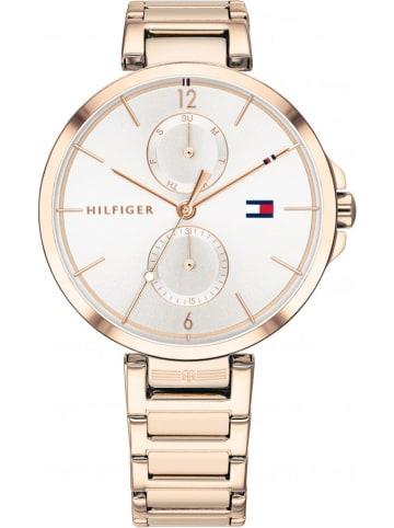 Tommy Hilfiger Zegarek kwarcowy w kolorze biało-różowozłotym