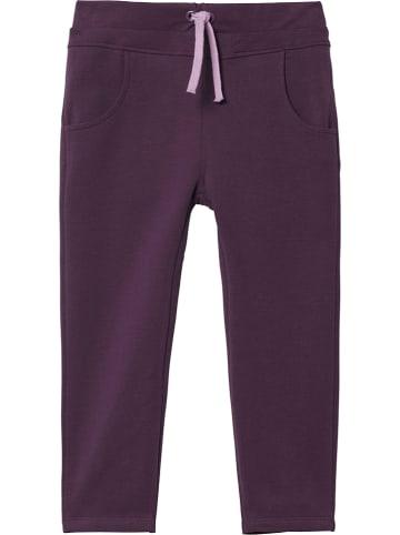 Steiff Spodnie dresowe w kolorze fiołkowym