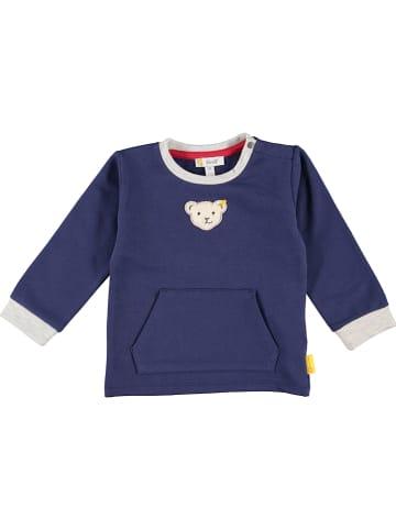 Steiff Sweatshirt donkerblauw