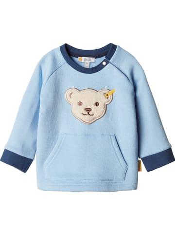 Steiff Sweatshirt lichtblauw