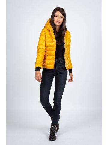 Snowie Collection Kurtka przejściowa w kolorze żółtym