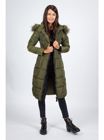 Snowie Collection Płaszcz przejściowy w kolorze khaki