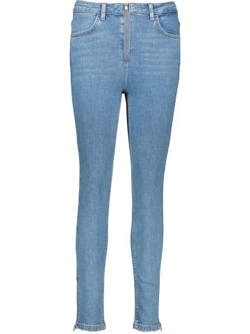 NA-KD Dżinsy - Skinny fit - w kolorze niebieskim