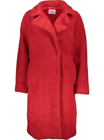 NA-KD Mantel in Rot