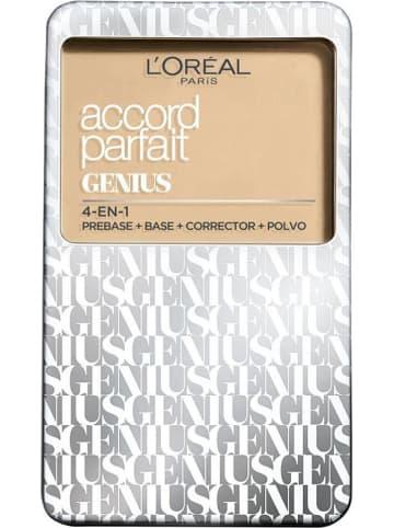 """L'Oréal Paris Podkład 4w1 """"Accord Parfait Genius - 3D Beige Doré"""" - 7 g"""