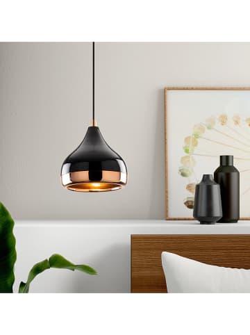 "Mioli Hanglamp ""Yildo"" zwart/oranje - Ø 17 cm"