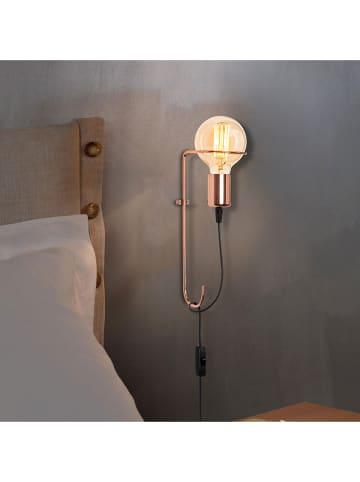 "Scandinavia Concept Wandlamp ""Pota"" koperkleurig - (B)15 x (H)30 cm"
