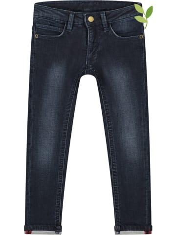 Smitten Organic Spijkerbroek - slim fit - donkerblauw