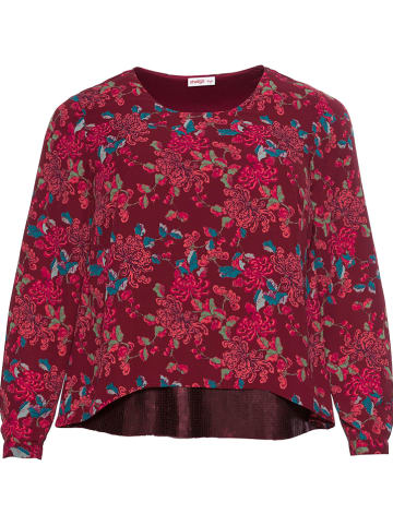 Sheego Blouse rood