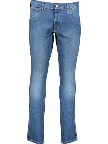 """Wrangler Jeans """"Larston"""" - Slim Tapred fit - in Blau"""