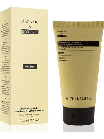 "Organic & Botanic Hydraterende crème ""Advanced Night & Day Ultra Revive & Hydrate"", 75 ml"