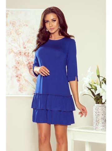 Numoco Sukienka w kolorze niebieskim