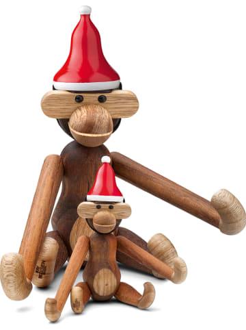 Kay Bojesen Dekoracyjna czapka w kolorze czerwonym - wys. 3 x Ø 3 cm