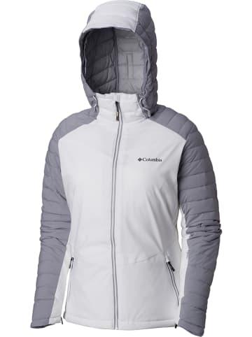 "Columbia Functionele jas ""Whistler Peak"" wit/grijs"