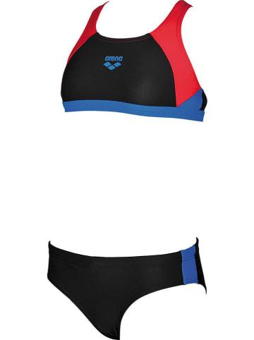 """Arena Bikini """"Ren"""" w kolorze czerwono-czarnym"""