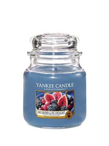 Yankee Candle Średnia świeca zapachowa - Mulberry & Fig Delight