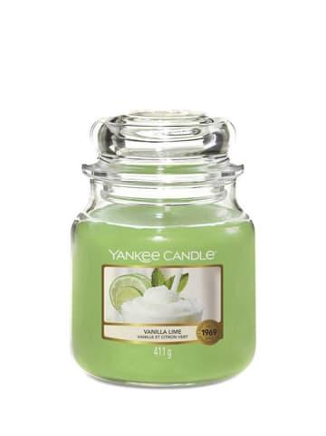 Yankee Candle Średnia świeca zapachowa - Vanilla Lime