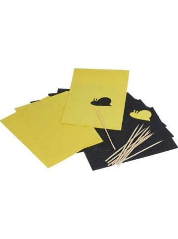 SUNNYSUE Kraspapier met sjablonen zwart/geel