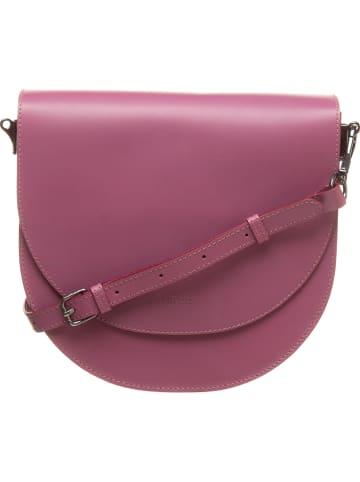 """Bree Skórzana torebka """"Cambridge 19"""" w kolorze fioletowym - 27 x 25 x 8 cm"""