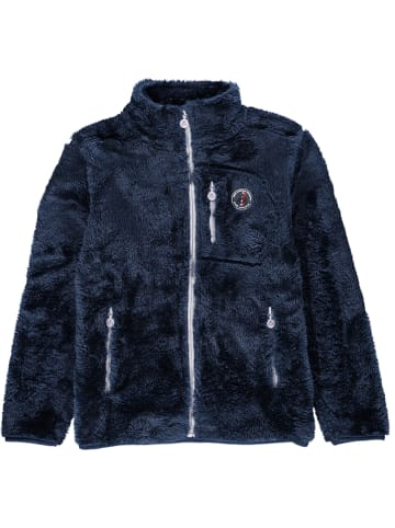 Peak Mountain Fleece vest donkerblauw