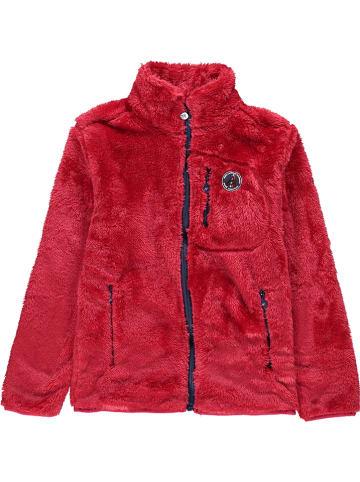 Peak Mountain Fleece vest rood