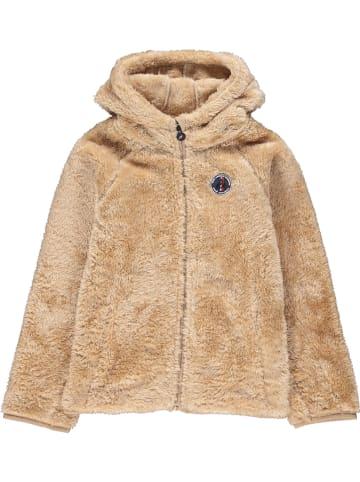 Peak Mountain Fleece vest beige