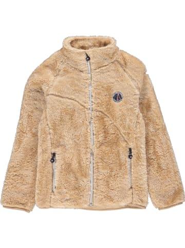 Peak Mountain Fleece vest lichtbruin