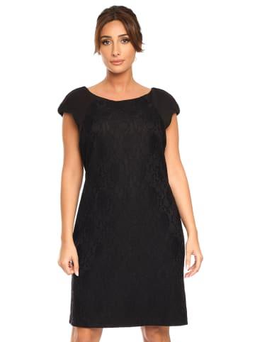 """Plus Size Fashion Sukienka """"Melisse"""" w kolorze czarnym"""