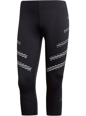 """Adidas Legginsy """"Parley"""" w kolorze czarnym do biegania"""