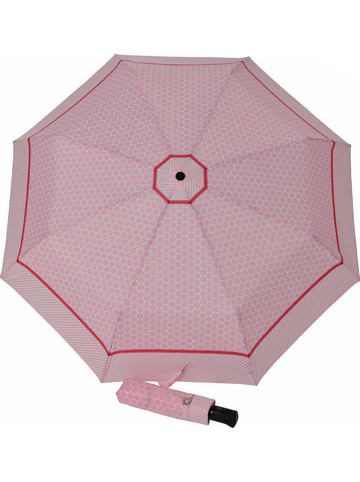"""Doppler Regenschirm """"Carbonsteel Magic"""" in Rosa"""