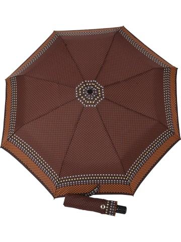 """Doppler Regenschirm """"Carbonsteel Magic"""" in Braun"""