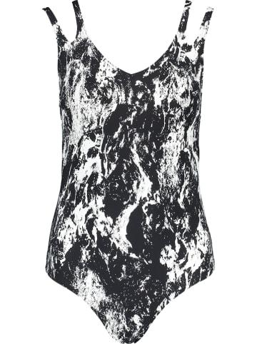 """Speedo Modelujący strój kąpielowy """"Luxepool"""" w kolorze czarnym"""