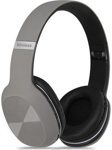 SWEET ACCESS Słuchawki bezprzewodowe Bluetooth On-Ear w kolorze szarym z radiem