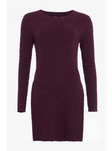 "French Connection Sweter ""Relie"" w kolorze ciemnofioletowym"