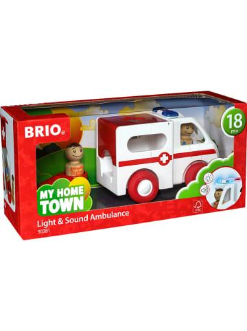 """Brio 4-delige ziekenwagenset """"My Home Town"""" - vanaf 18 maanden"""