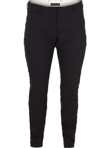 """ZAY Spodnie """"Maria"""" w kolorze czarnym"""